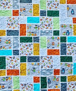 Custom Quilt, Neighborhood Pals