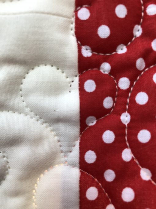 Mickey Meets Minnie One of a Kind Quilt