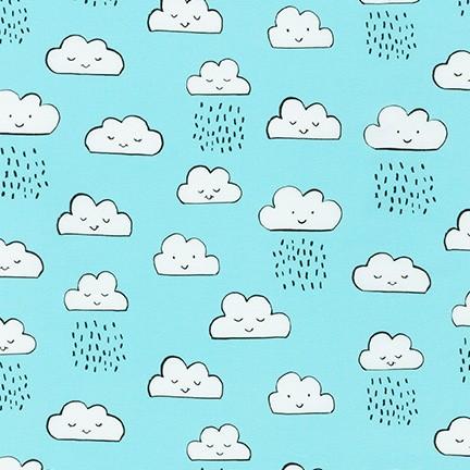 Neighborhood Pals, Clouds, Blue