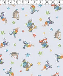 Bike Ride Animal Toss, Light Pewter