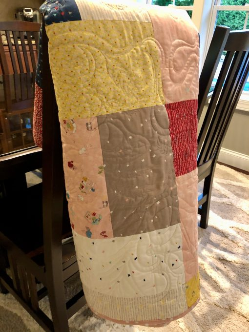 CUSTOM PIECED BUTTERFLY QUILT, DESIGNED BY THERESA CIANCIOLO