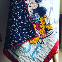 Mickey Mouse Nautical Quilt