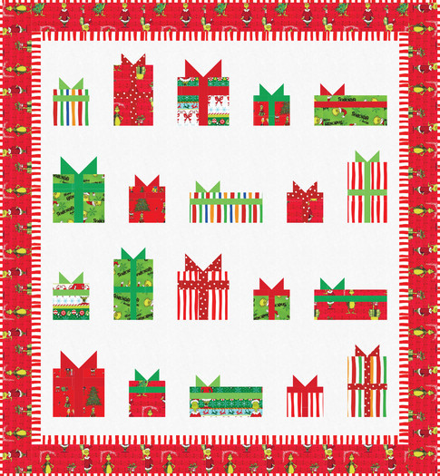 How the Grinch Stole Christmas Free Quilt Pattern Download