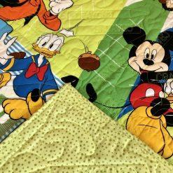 Disney, Mickey, Donald, Pluto and Goofy quilt
