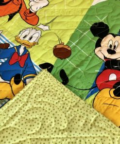 Disney, Mickey, Donald, Pluto and Goofy quilt