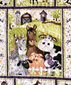Barnyard Buddies Quilt Kit