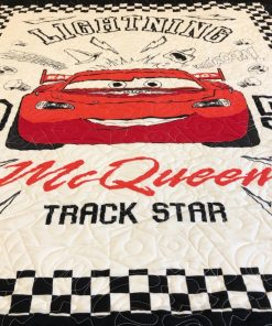 Lightning McQueen Toddler Quilt