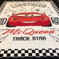 Lightning McQueen Toddler Quilt