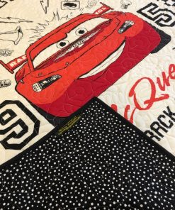 Original design Lightning McQueen Quilt