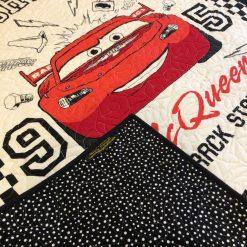Original design Lightning McQueen Quilt