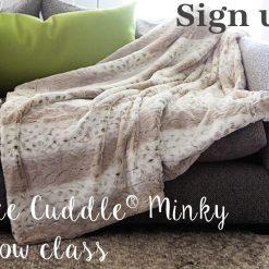 Shannon Fabrics LUXE Class