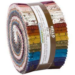 Robert Kaufman Jelly Roll Ups, Mill Pond 2.5 Strips, R0590955-1