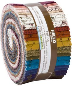 Robert Kaufman Jelly Roll Ups, Mill Pond 2.5 Strips, R0590955-1