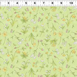 Y2873-23 When I'm Big, Spring Flowers, Light Olive