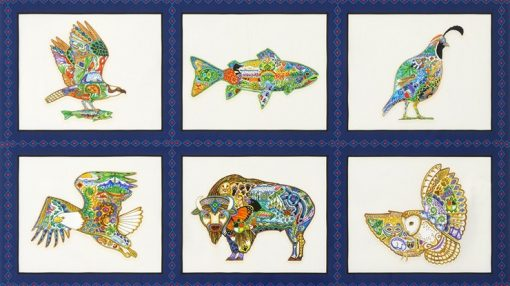 Animal Spirits, Robert Kaufman Panel, Multi
