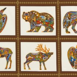 animal_spirits-AUAM-15820-169-A1600002 Animal Spirits Panel, EARTH