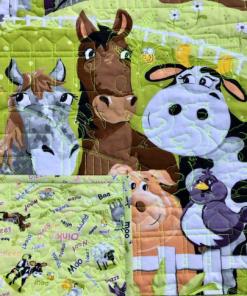 Barnyard Buddies Quilt Panel, Susybee