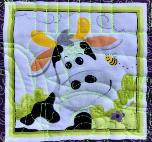 """Barnyard Buddies, 36"""" Quilt Panel by Susybee; Clothworks, Sold by Lightning Bugs Quilt Studio"""