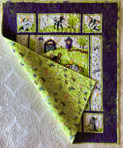 Barnyard Buddies (Noises Backing) Sold by Lightning Bugs Quilt Studio