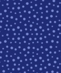 Irregular Dot, Navy by Susybee; Clothworks