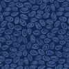 Swirls, Navy by Susybee; Clothworks