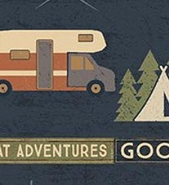 Adventure Awaits, By designer Dan DiPaolo, Denim
