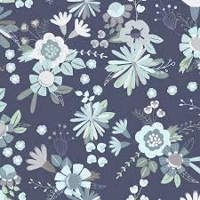 Secret Garden, Light Navy, Clothworks