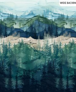"Whispering Pines Colorway, 108"" Wide, Northcott Fabric"