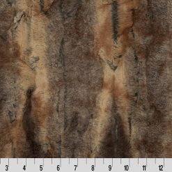 Red Fox Luxe Fabric; Shannon