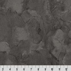 Cuddle Cut Hide Charcoal by Shannon Fabrics