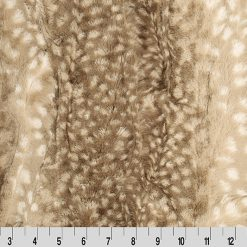 Cuddle Cuts Fawn Cappuccino by Shannon Fabrics
