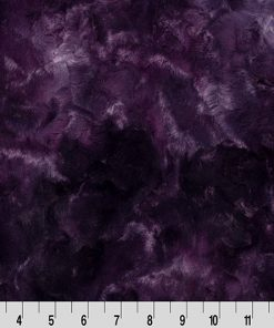 Cuddle Cut Galaxy Plum by Shannon Fabrics