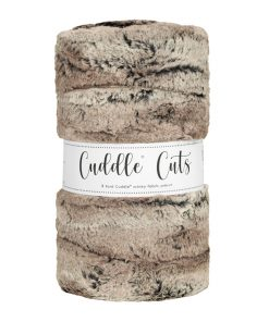 Cuddle Cuts Mountain Fox Pewter by Shannon Fabrics