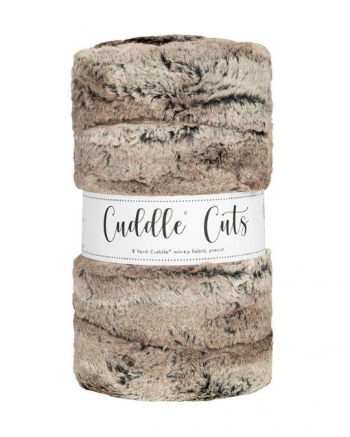 Cuddle Cuts Mountain Fox Pewter by Shannon Fabrics