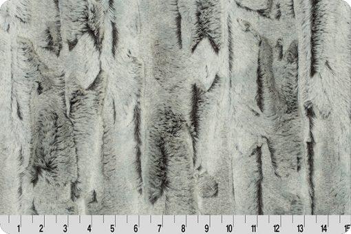 Luxe Cuddle® Silver Fox Minky Plush Fabric by Shannon Fabrics