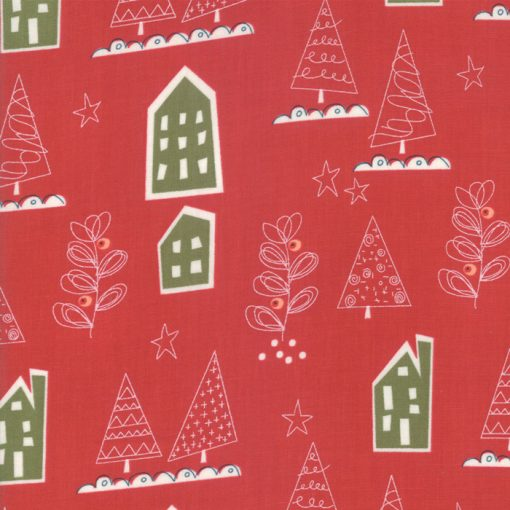 Oh What Fun, Red Christmas from Moda Fabrics