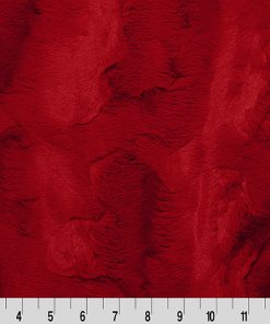 "Luxe Cuddle® Mirage 80"" Cardinal by Shannon Fabrics"