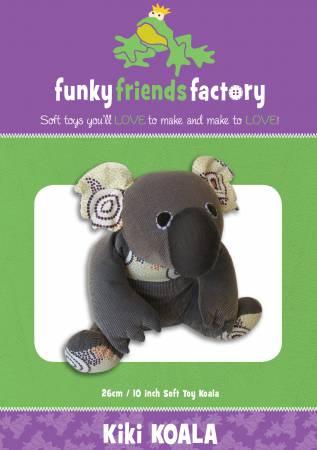 Kiki Koala Funky Friends Paper Pattern