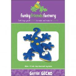 Gertie GECKO! Funky Friends Factory Pattern