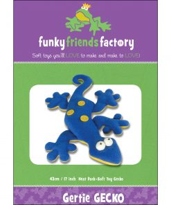 Gertie GECKO! Funky Friends Factory Pattern