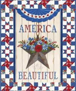 America Beautiful Quilt and Table Runner Kit!
