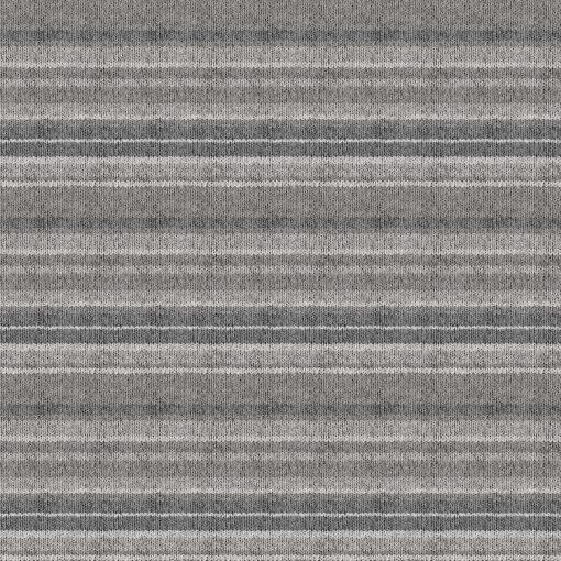 My America Gray Knit-Look Stripe   Gray Multi