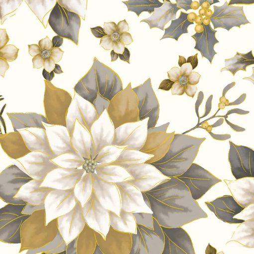 "108"" Joyous Garden Cream/Neutral, KANVAS STUDIOS"