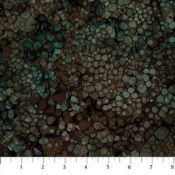 Whispering Pines Raindrops/Brown Multi/Northcott Fabrics