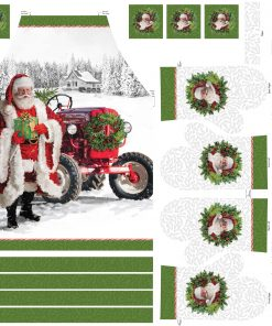 Here Comes Santa, Apron and Oven Mitt