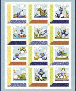 Windows into Ducktales, From the World of Susybee, Quilt Kit