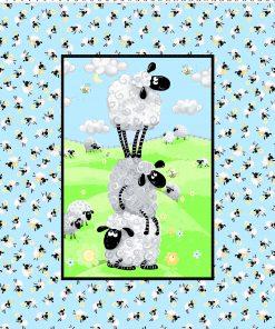 LEWE the Ewe Blue Panel