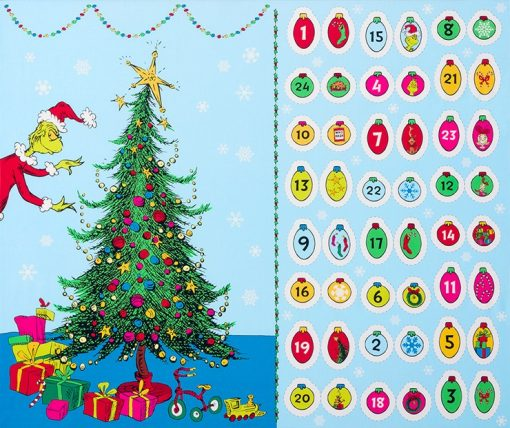 How the Grinch Stole Christmas, Advent Calendar, Dr. Suess Enterprises, Robert Kaufman