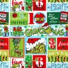 HOLIDAY by Dr. Seuss Enterprises from How the Grinch Stole Christmas, Advent Yardage