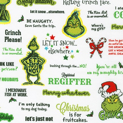 How the Grinch Stole Christmas, Holiday (Words)